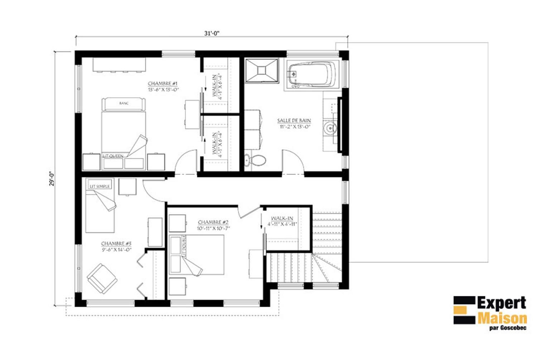 Maison A Etage Prefabriquee Modele Maison Usinee A Etage 816 Action Maisons